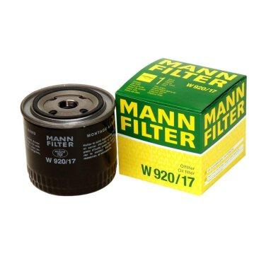 MANN-FILTER Ölfilter W 920/17