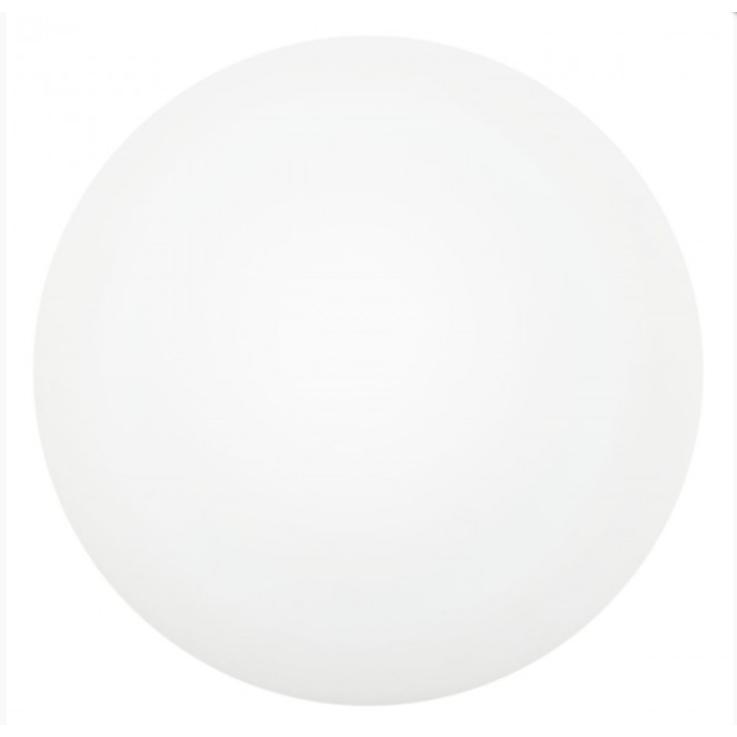 EGLO Leuchten BARI 1 Wand & Deckenleuchte 260mm, E27 weiss