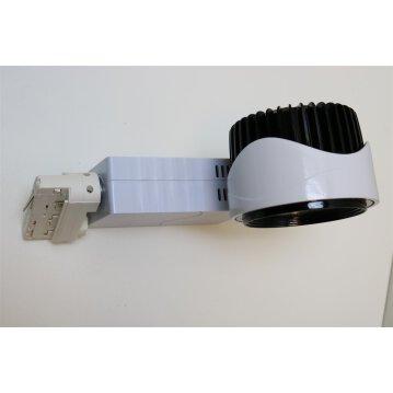30W LED Euro Track Light COB - Bridgelux Chip 4000K