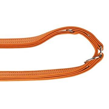 Hunter Verstellbare Führleine Cannes orange Länge 200 cm x 20mm
