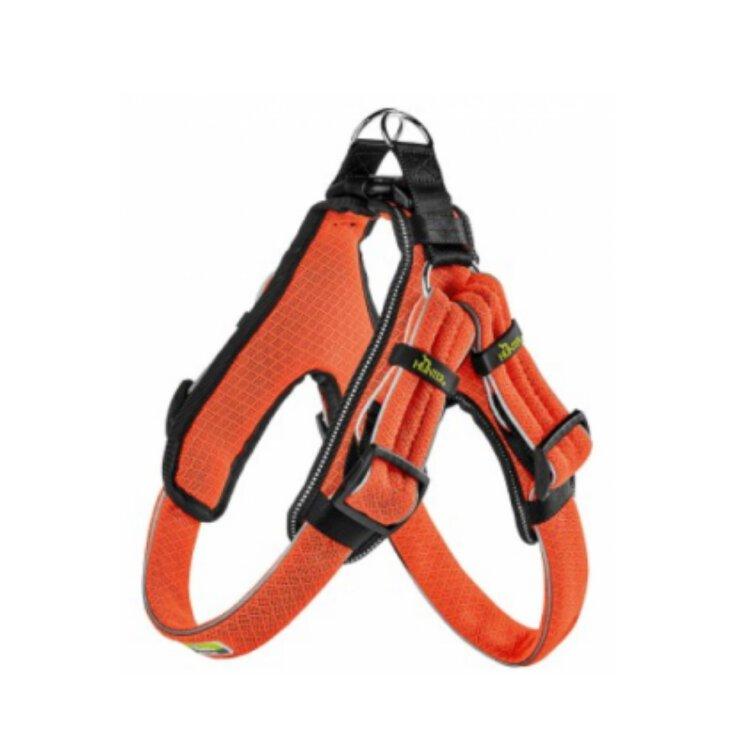 Hunter Geschirr Manoa Vario Quick Light  orange Gr.XS 36-45 cm
