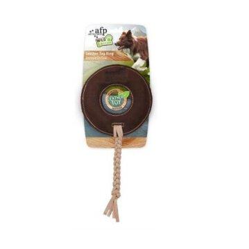 Juguete de Cuero WILD & NATURE Diskus Ø 13,5 cm