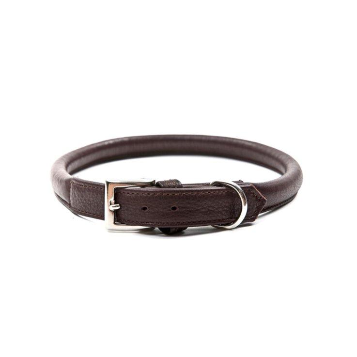 Wolters Halsband Terravita rund/Kastanie/ 65 cm
