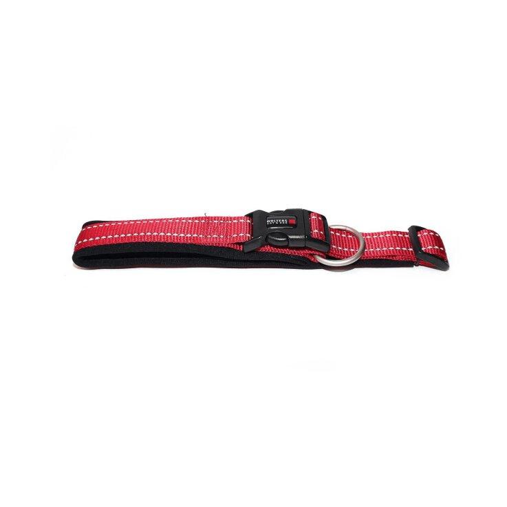 Wolters Halsband Soft & Safe reflektierend Gr. 0  Cayenne/Schwarz - 25-28cm