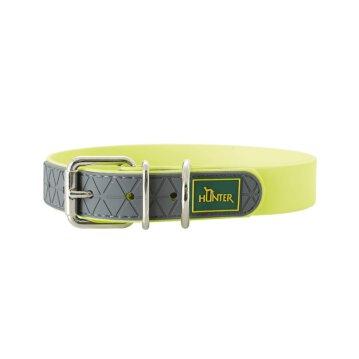Hunter Hunde Halsband New Convenience 65 cm Neongelb