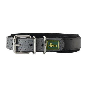 Hunter Halsband Convenience 65 cm schwarz  53- 61 cm / 25 mm