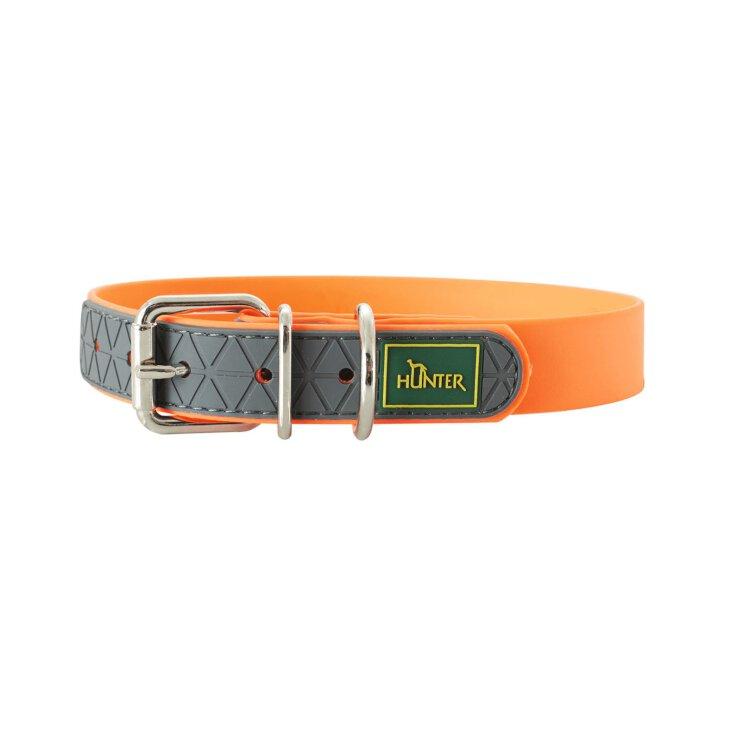 Hunter Halsband Convenience 40 cm neon Orange 28 - 36 cm / 20 mm