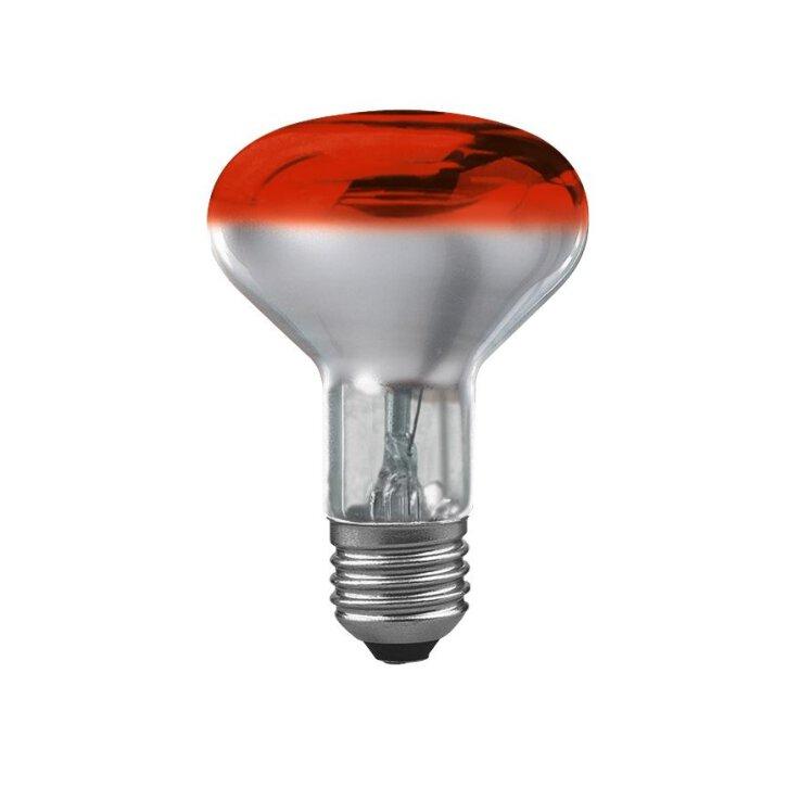 Osram Concentra CONC R80 60 60W Red/Rot E27