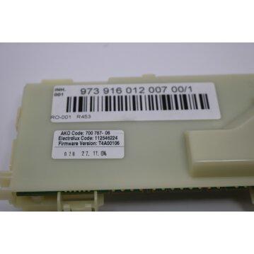 Konfigurierte Elektronik für Trockner Ersatzteilnummer  973916012007001