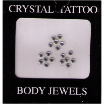 Crystal Tattoo / Body Juwels - 3 Blumen 1