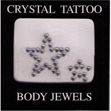 Crystal Tattoo / Body Juwels - Sterne