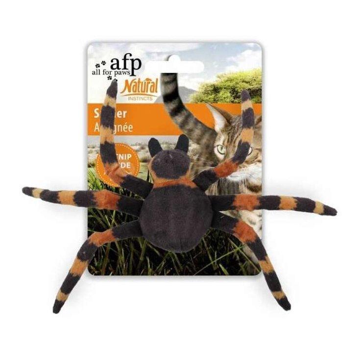 All for Paws Natural Instincts Katzenspielzeug Spider