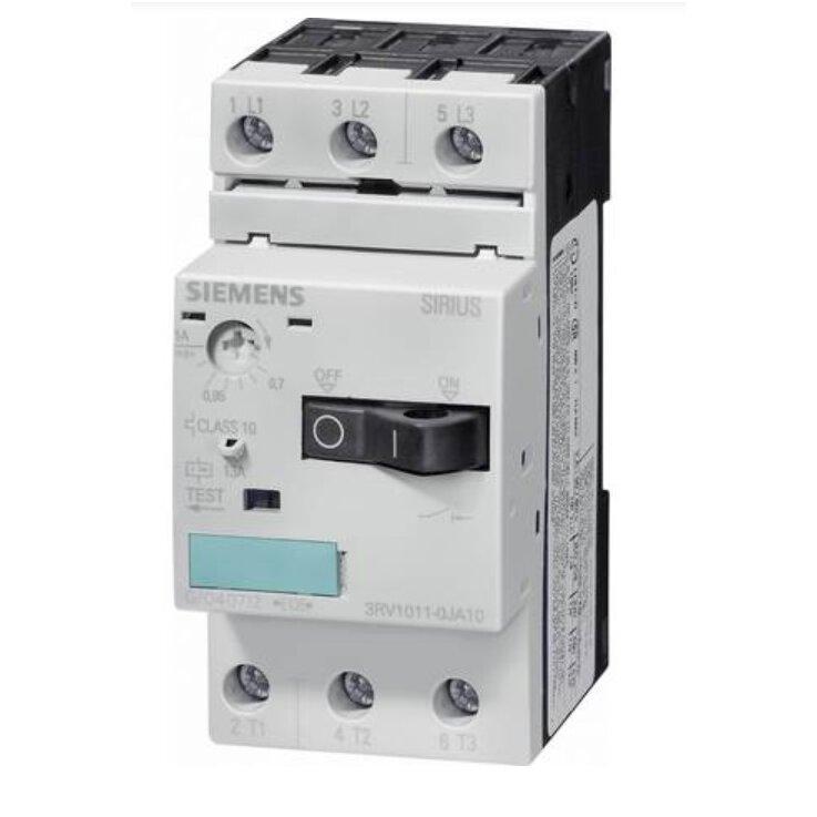 Siemens 3RV1011-1KA10 Leistungsschalter 1 St. 3 Schließer Einstellbereich (Strom): 9 - 12 A Schalts