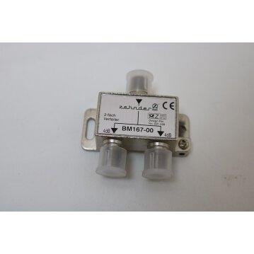ZEHNDER 2-fach Splitter BM 167-00
