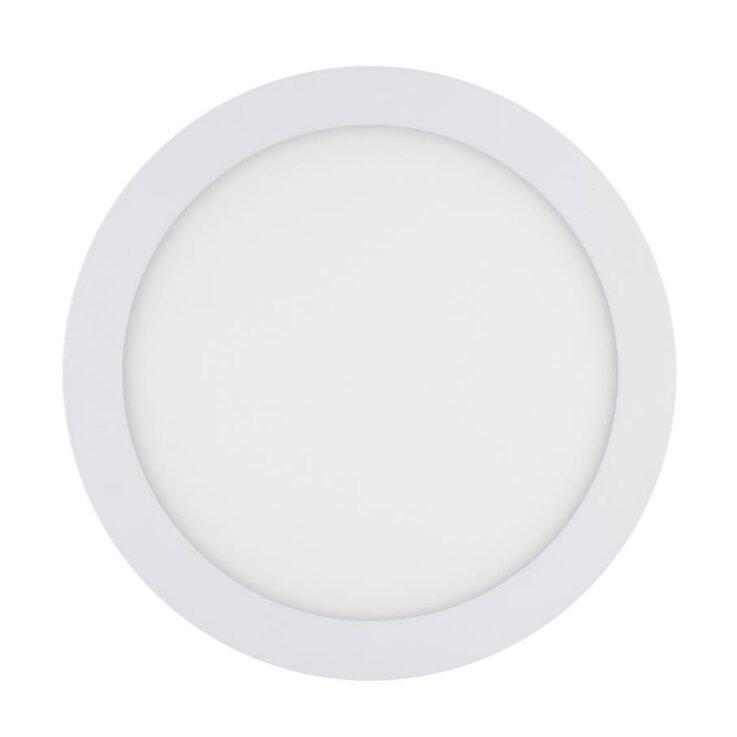 LED Deckeneinbauleuchte Rund PBD-4R 6W  3000K