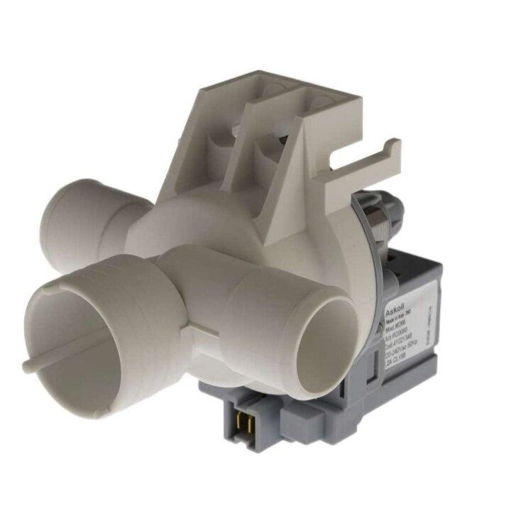 Ablaufpumpe CANDY 41021348 Askoll mit Pumpenkopf für Waschmaschine