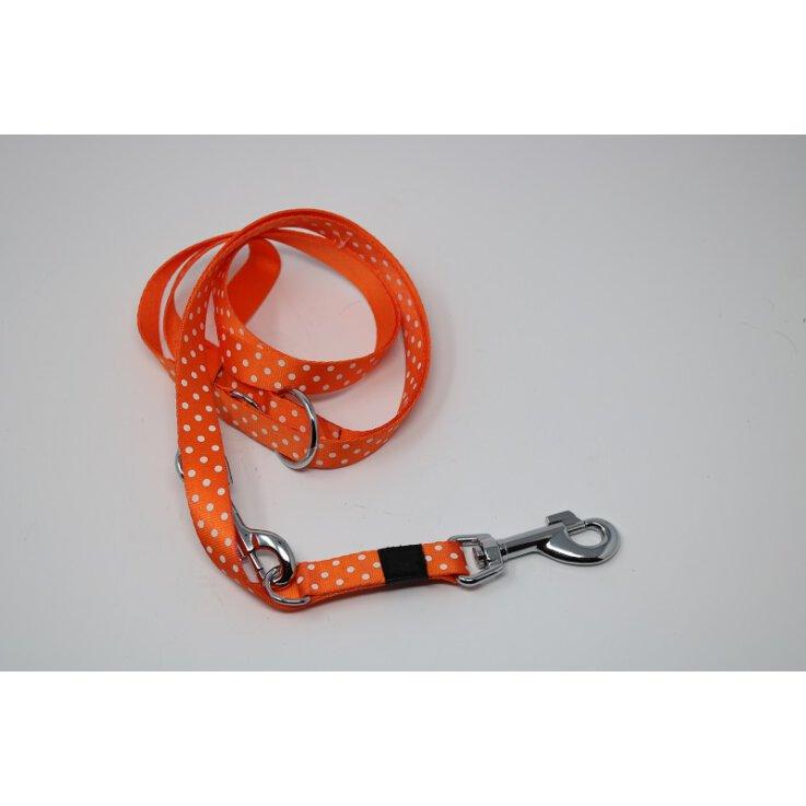 Karli Führerleine 200 cm x 20 mm Summer Orange