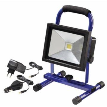 Promat LED-Strahler Akkubetrieben,20W, 1400lm IP65