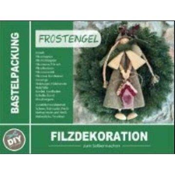 Bastelpackung Frostengel (Filzdekoration)
