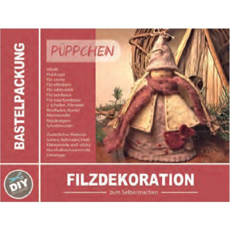 Bastelpackung Püppchen (Filzdeckoration)
