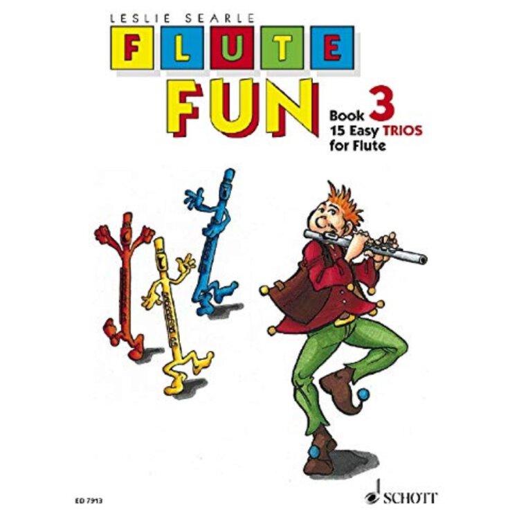 Flute Fun: 15 Easy Trios. Vol. 3. 3 Flöten. Spielpartitur. (Deutsch)