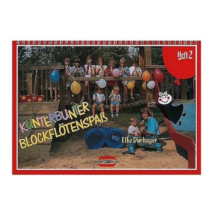 Kunterbunter Blockflötenspaß Heft 2