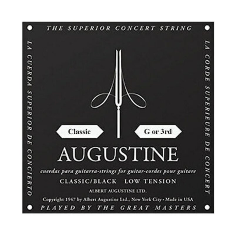 12 Stück Augustine Classic G or 3rd black