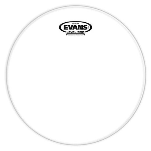 """EVANS GENERA G2 13"""" Clear 2PLY"""