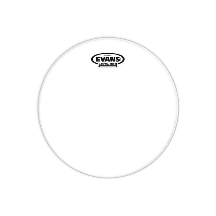 "EVANS 13"" Genera Resonant Clear Drumfell"