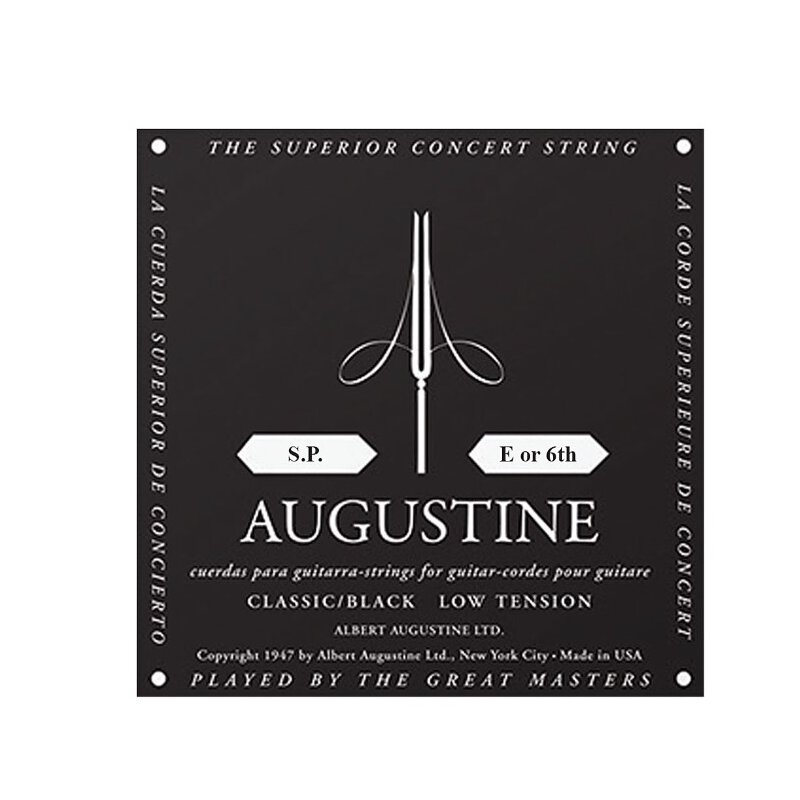 Augustine Classic S.P. E or 6th black (1 Stück)