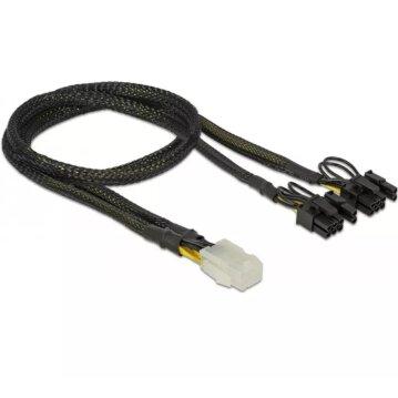 DeLOCK - Stromkabel - 6-poliges PCIe Power (W) bis...