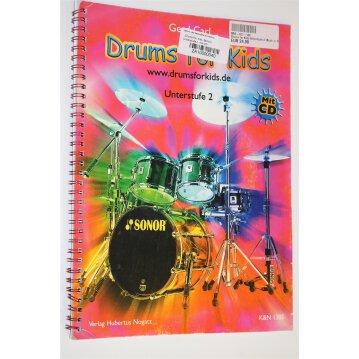 """Drums For Kids, Band 2: Unterstufe 2, mit CD"""