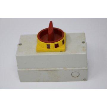 Hauptschalter, Not-Aus-Schalter bis 11kW 32A