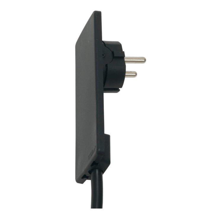 Schutzkontakt-Stecker EVOline Plug, extraflach